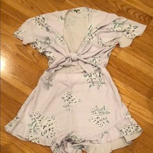 Lavender Romper from Show Me Your Mumu